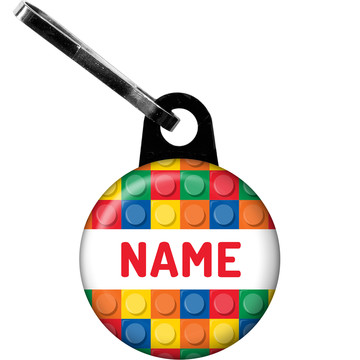 Block Party Personalized Zipper Pull (Each)