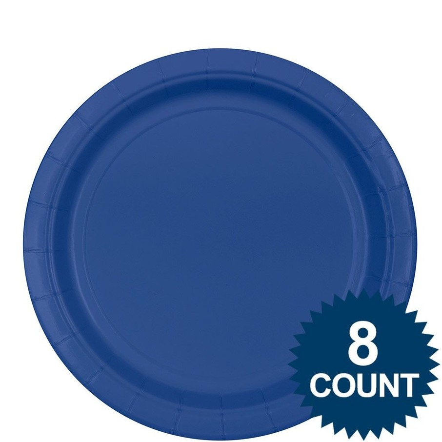 View larger image of Blue Lunch Plates (8)