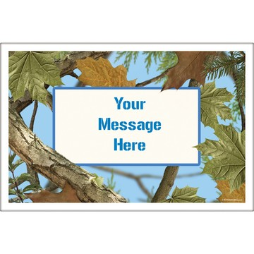 Blue Camo Personalized Placemat (Each)