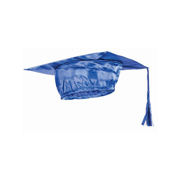 Blue Graduation Adult Cap - One-Size