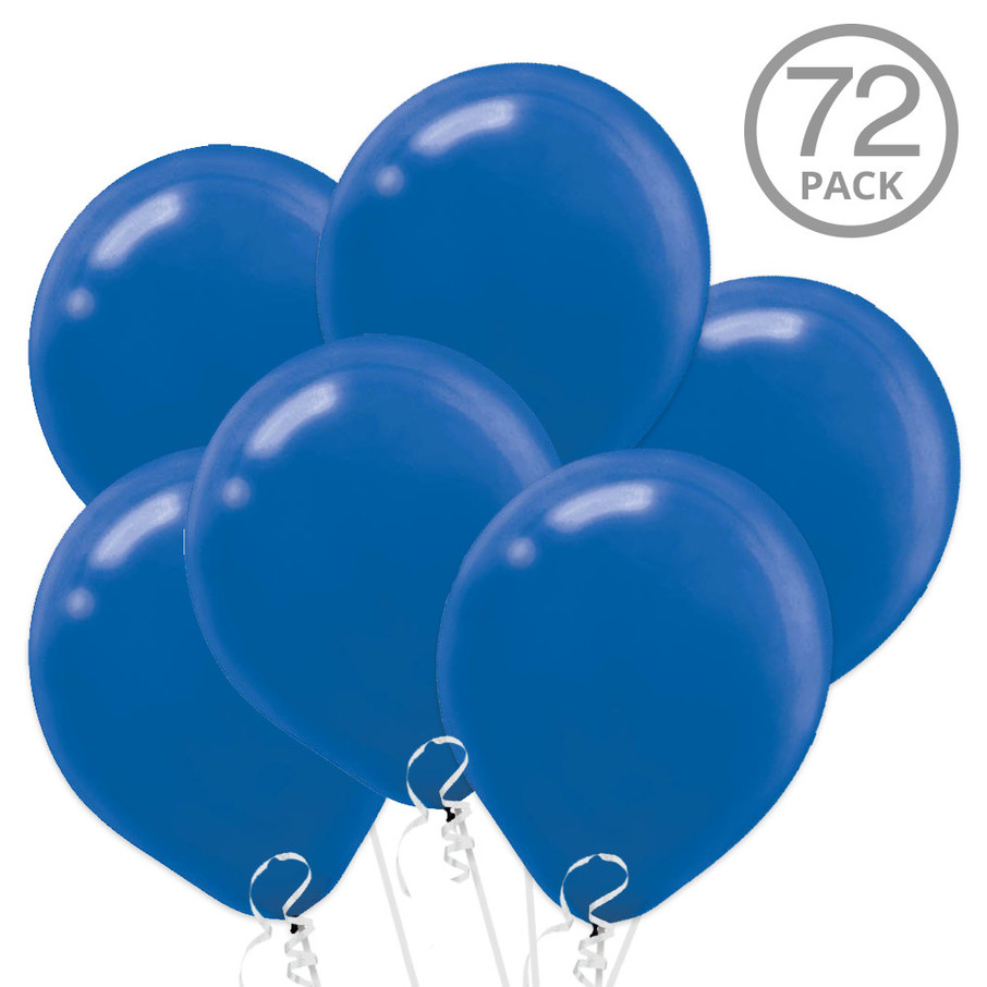 View larger image of Blue Latex Balloons (72 Count)