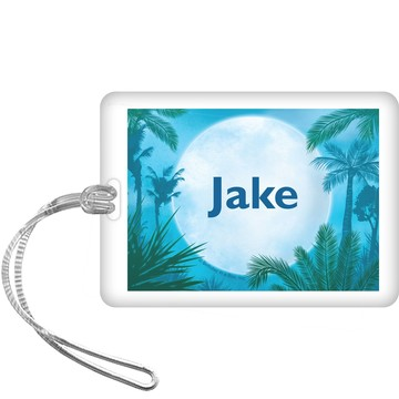 Blue Planet Personalized Bag Tag (each)