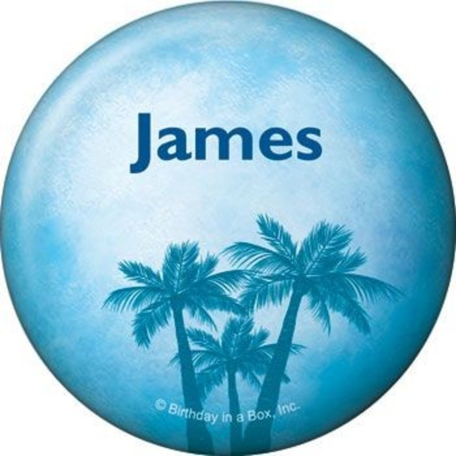 View larger image of Blue Planet Personalized Button (each)