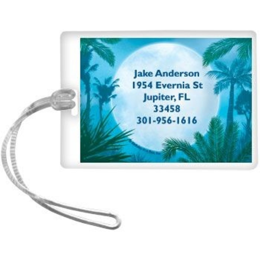 View larger image of Blue Planet Personalized Luggage Tag (each)