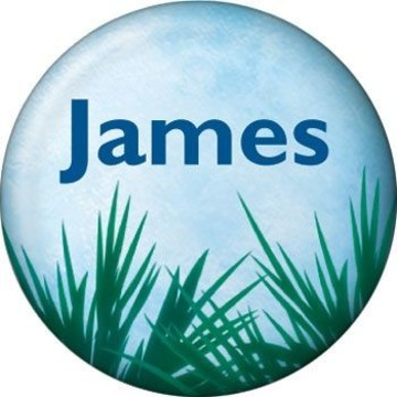 Blue Planet Personalized Mini Magnet (each)
