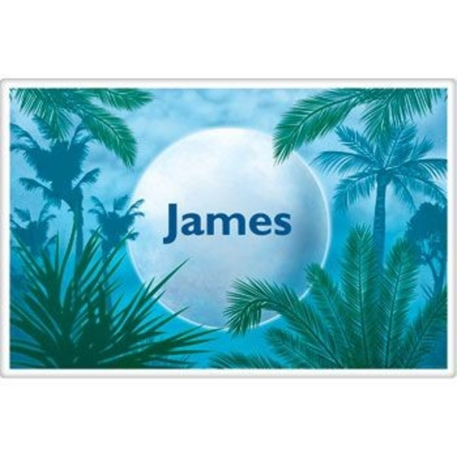 View larger image of Blue Planet Personalized Placemat (each)