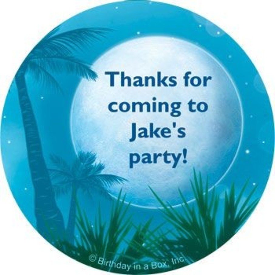 View larger image of Blue Planet Personalized Stickers (sheet of 12)