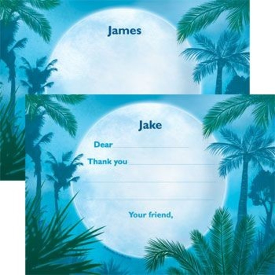 View larger image of Blue Planet Personalized Thank You Note (each)