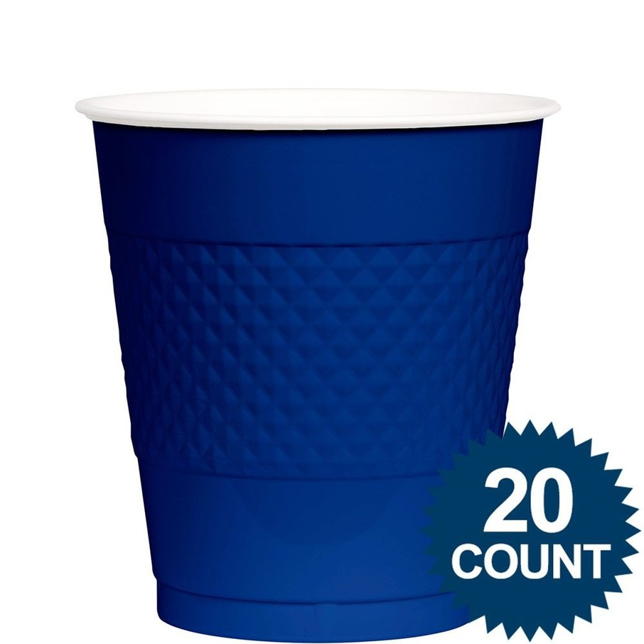 View larger image of Blue Plastic Cups, 12 oz.