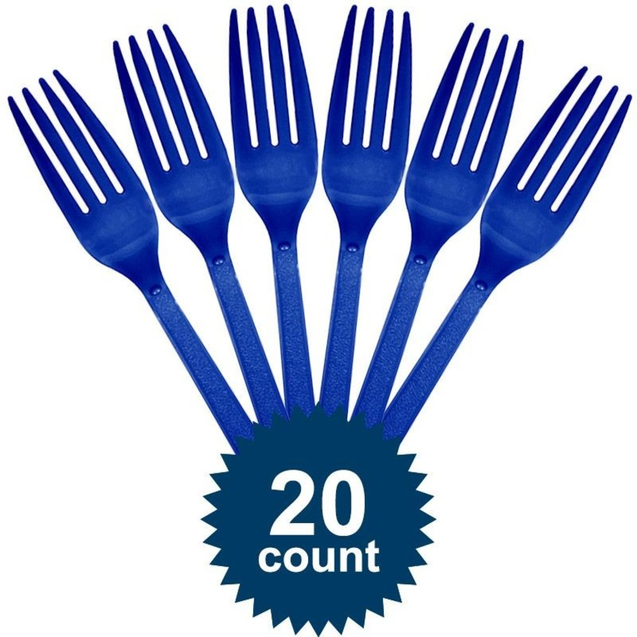 View larger image of Blue Plastic Forks