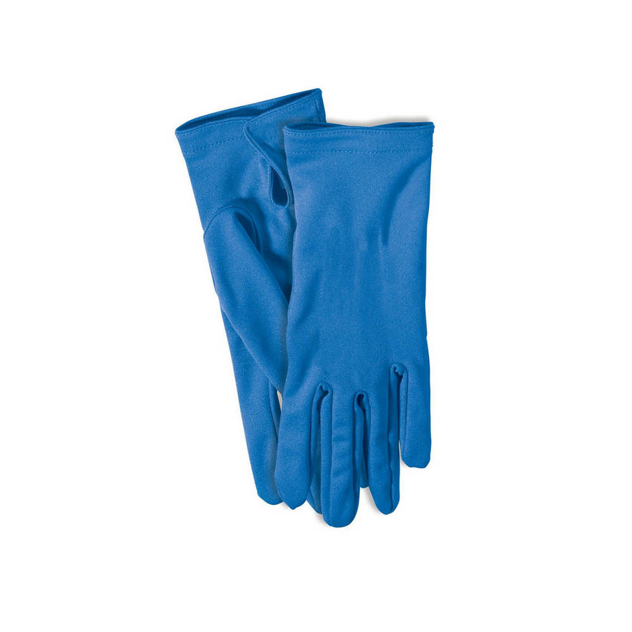 View larger image of Blue Short Gloves