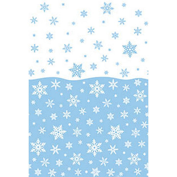 Blue Snowflake Tablecover (1)