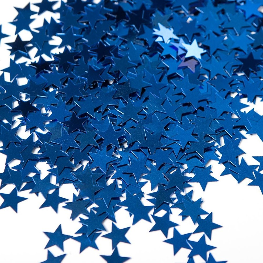 View larger image of Blue Stars Foil Confetti .5oz (Each)