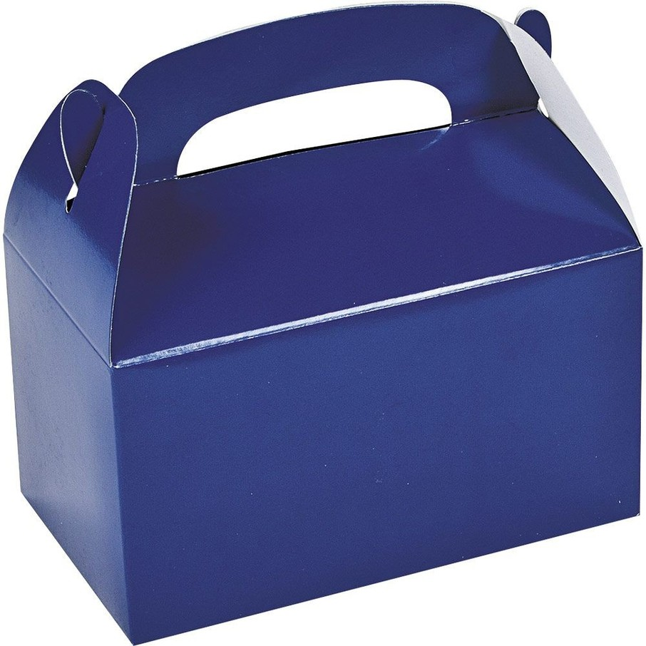 View larger image of Blue Treat Favor Boxes (12)