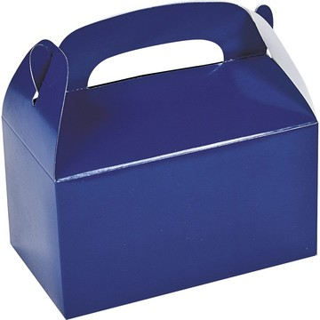 Blue Treat Favor Boxes (12)
