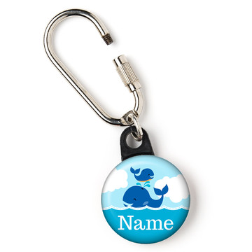 """Blue Whale Personalized 1"""" Carabiner (Each)"""