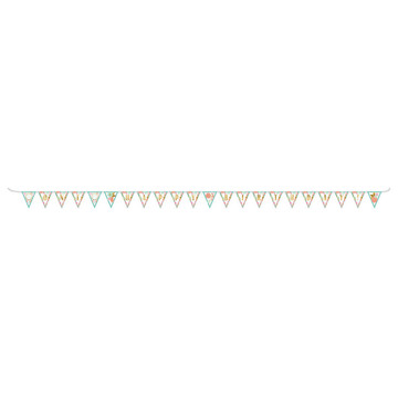 Boho Birthday Girl Pennant Banner