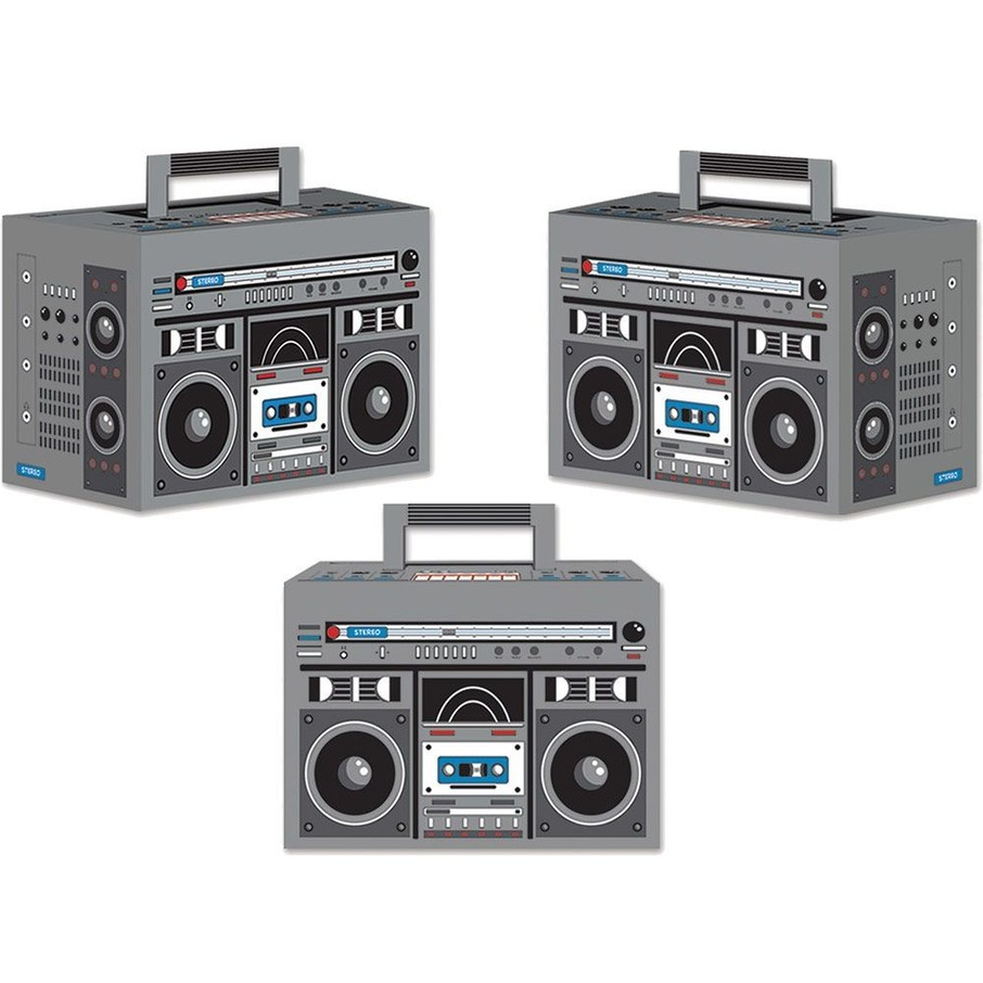 View larger image of Boom Box Favor Boxes (3 Pack)