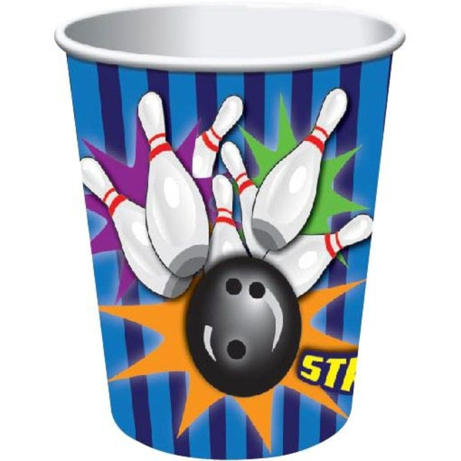 View larger image of Bowling 9 Oz Cups (8 Pack)