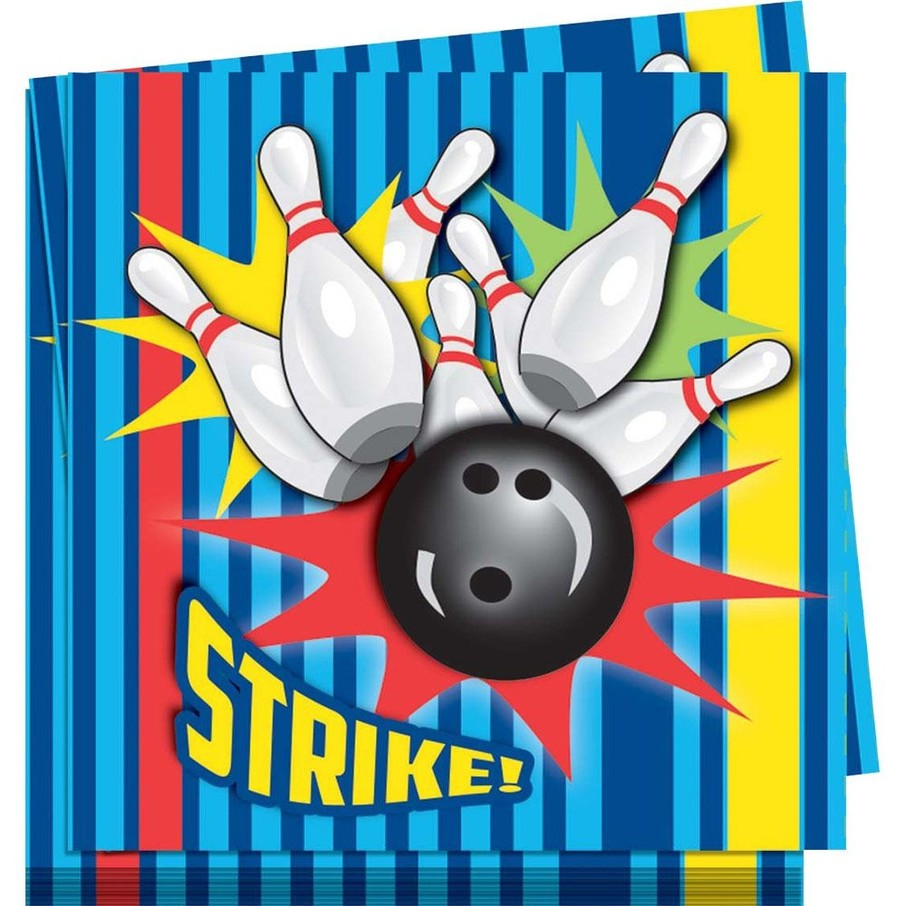 View larger image of Bowling Lunch Napkins (16 Pack)