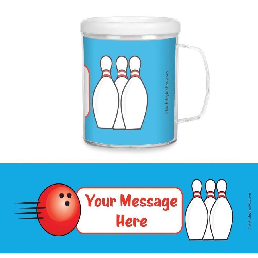 View larger image of Bowling Personalized Favor Mugs (Each)