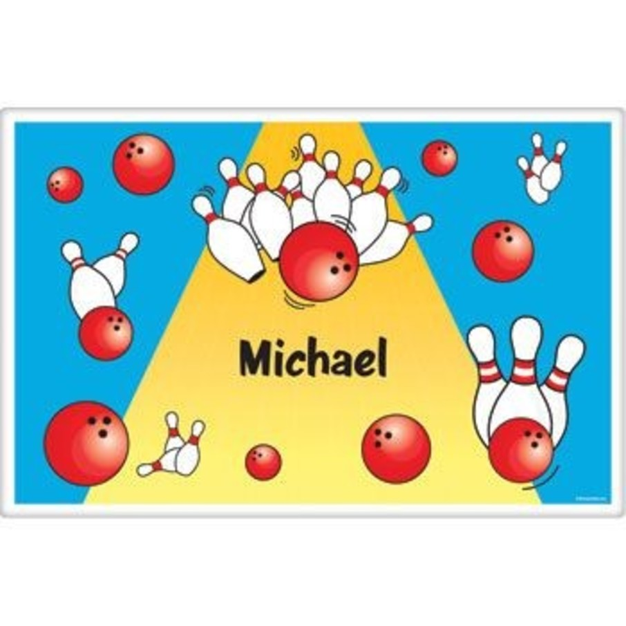 View larger image of Bowling Personalized Placemat (each)