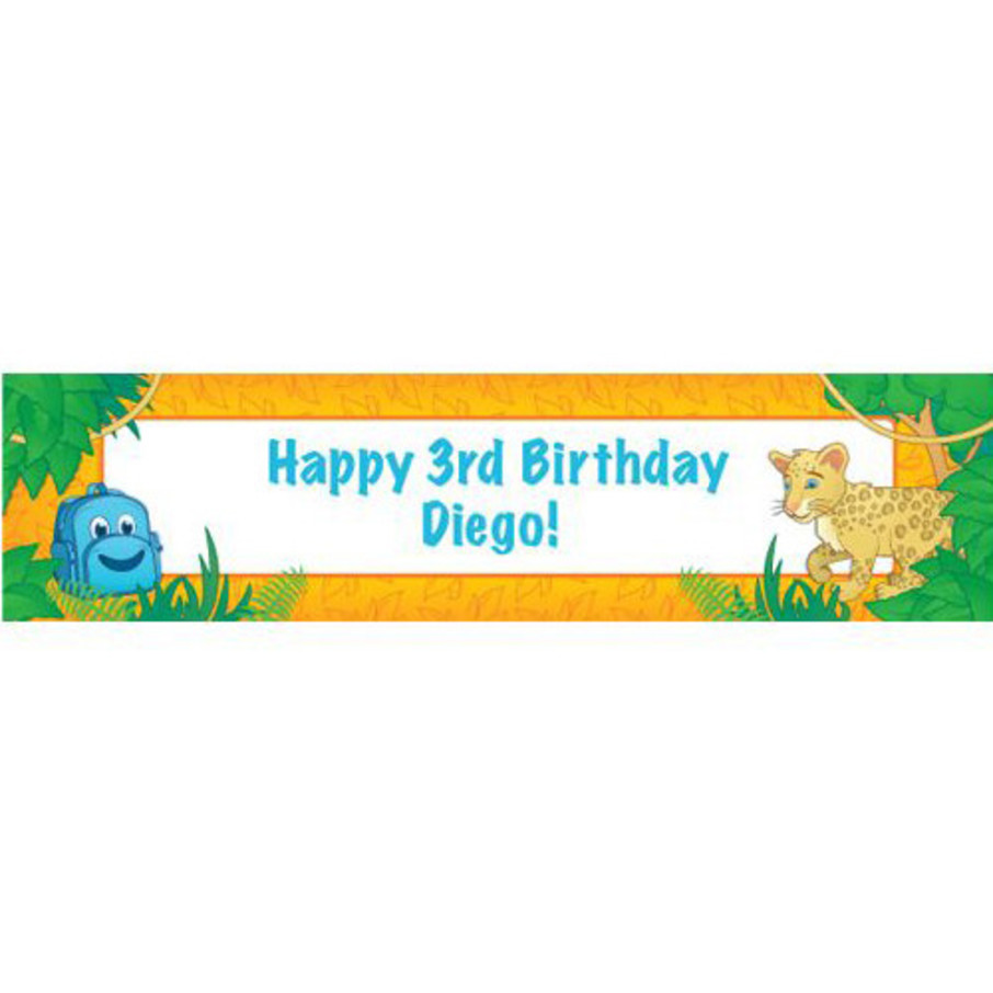 View larger image of Boy Explorer Personalized Banner (each)