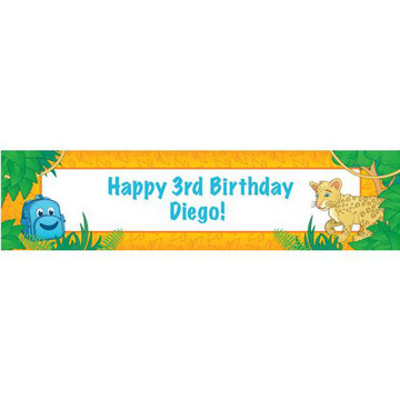 Boy Explorer Personalized Banner (each)