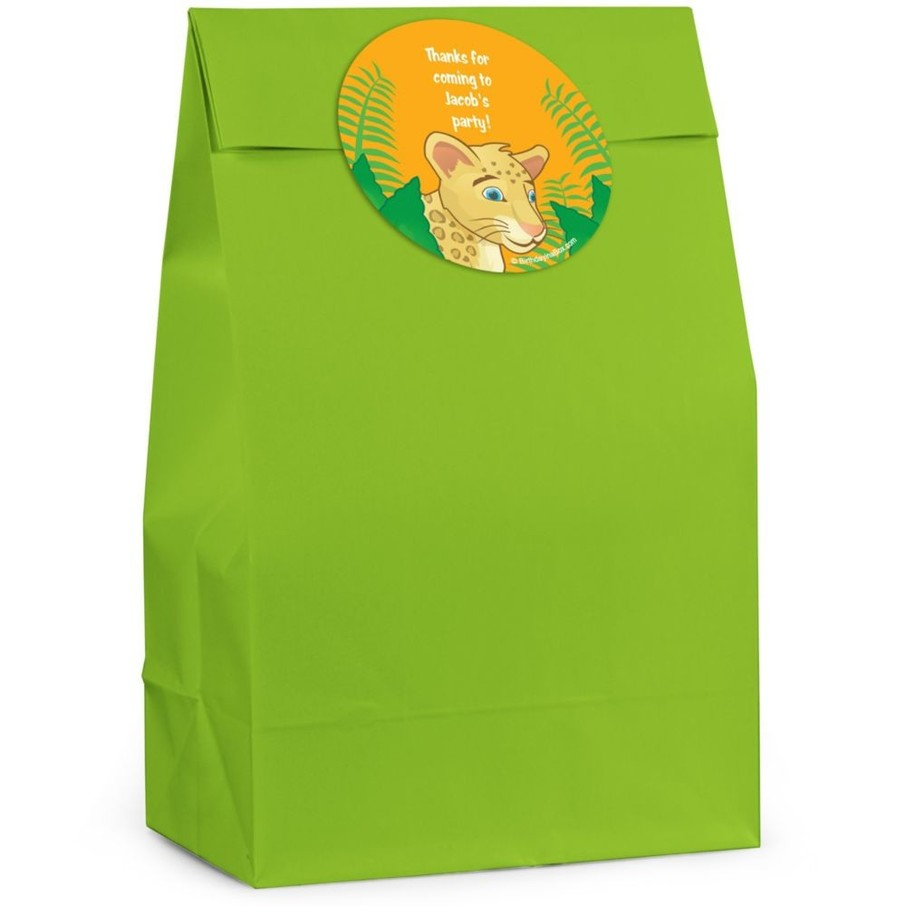 View larger image of Boy Explorer Personalized Favor Bag (Set Of 12)