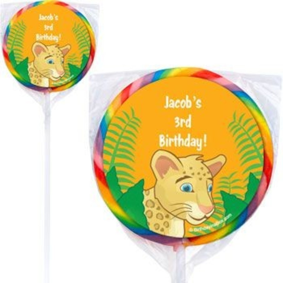 View larger image of Boy Explorer Personalized Lollipops (pack of 12)