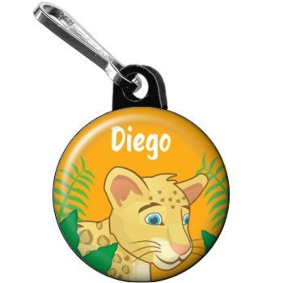 View larger image of Boy Explorer Personalized Mini Zipper Pull (each)