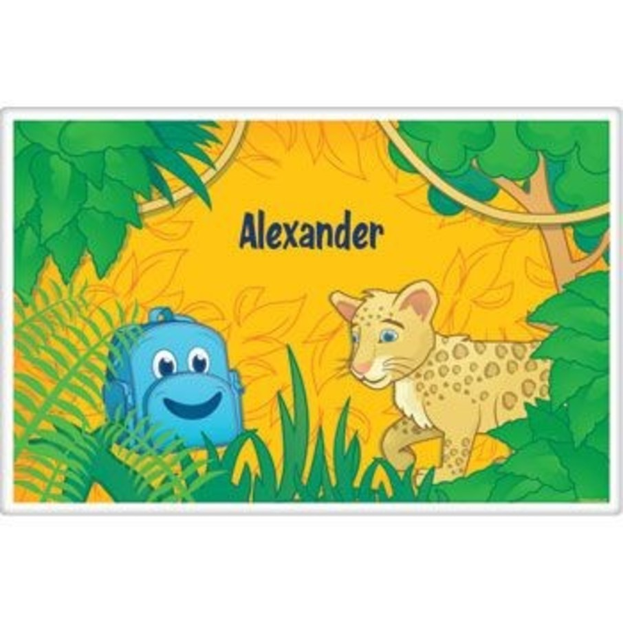 View larger image of Boy Explorer Personalized Placemat (each)