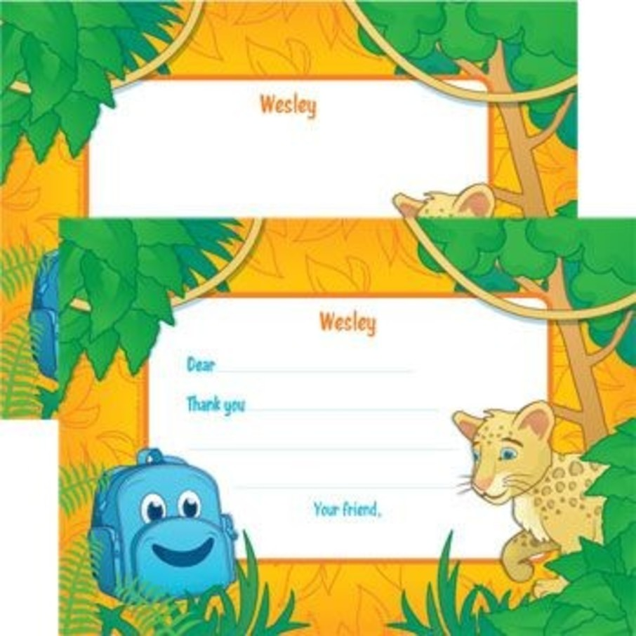 View larger image of Boy Explorer Personalized Thank You Note (each)