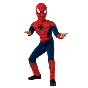 Boys Ultimate Spiderman Muscle Chest Co