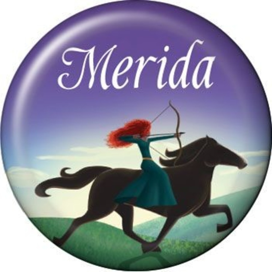 View larger image of Brave Princess Personalized Mini Button (each)