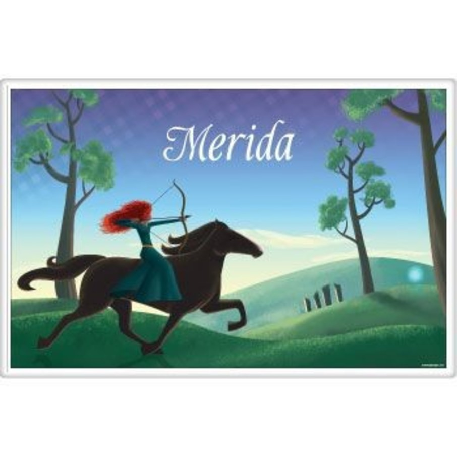 View larger image of Brave Princess Personalized Placemat (each)