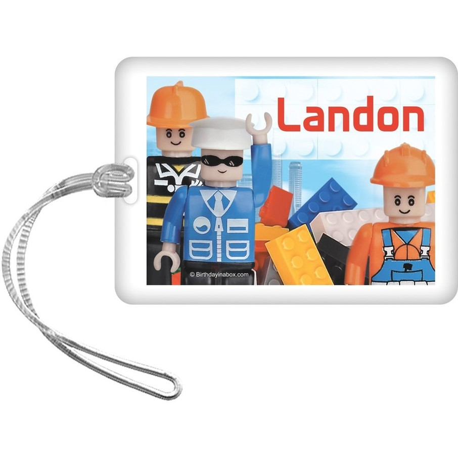 View larger image of Bric Tek Personalized Bag Tag (Each)