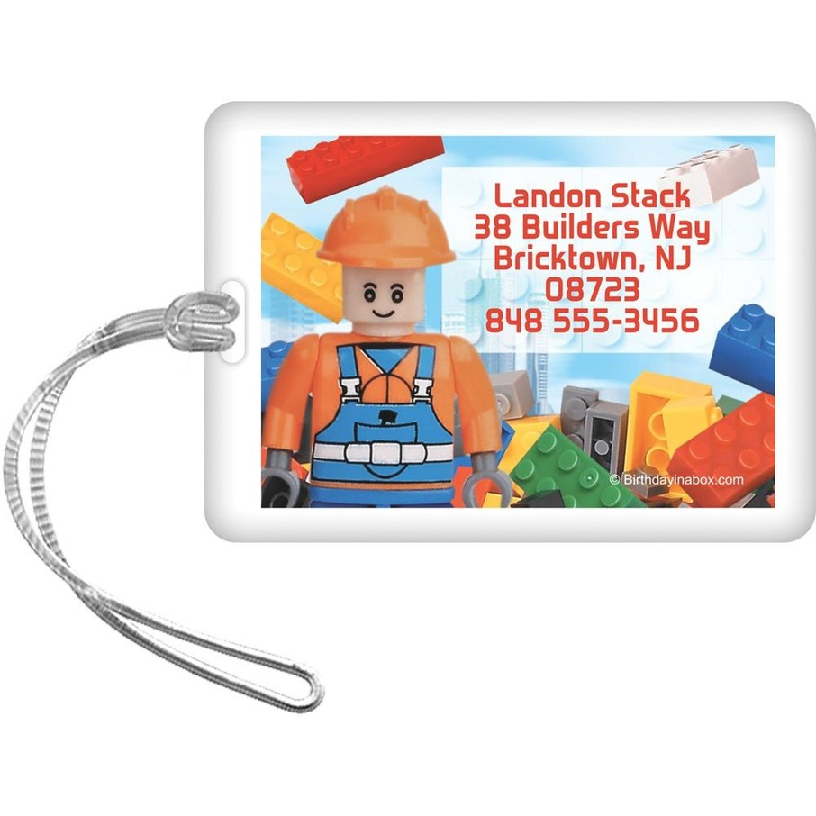 View larger image of Bric Tek Personalized Luggage Tag (Each)