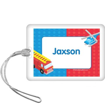 Brick City Personalized Bag Tag (each)