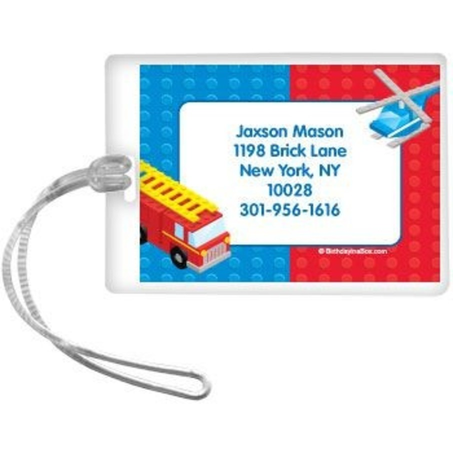 View larger image of Brick City Personalized Luggage Tag (each)