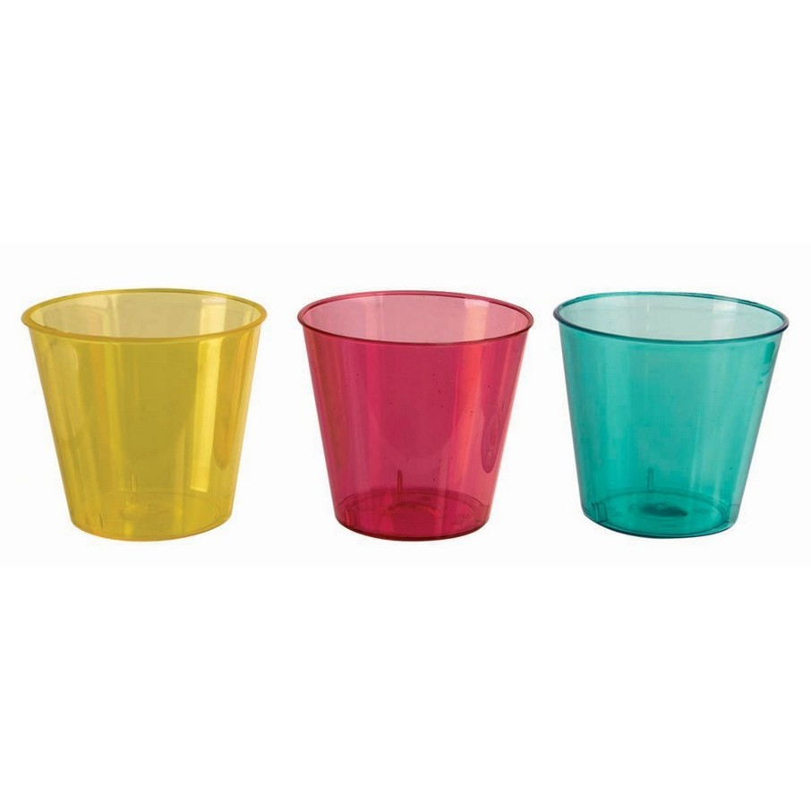 View larger image of Bright Assorted Flourescent Shotglasses (24 Count)