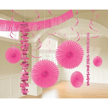 Bright Pink Decoration Kit