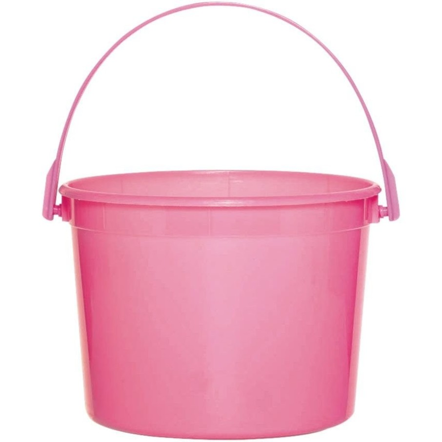View larger image of Bright Pink Plastic Bucket