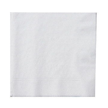 Bright White (White) Beverage Napkins