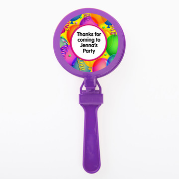 Brilliant Balloons Personalized Clappers (Set Of 12)