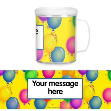 Brilliant Balloons Personalized Favor Mugs (Each)