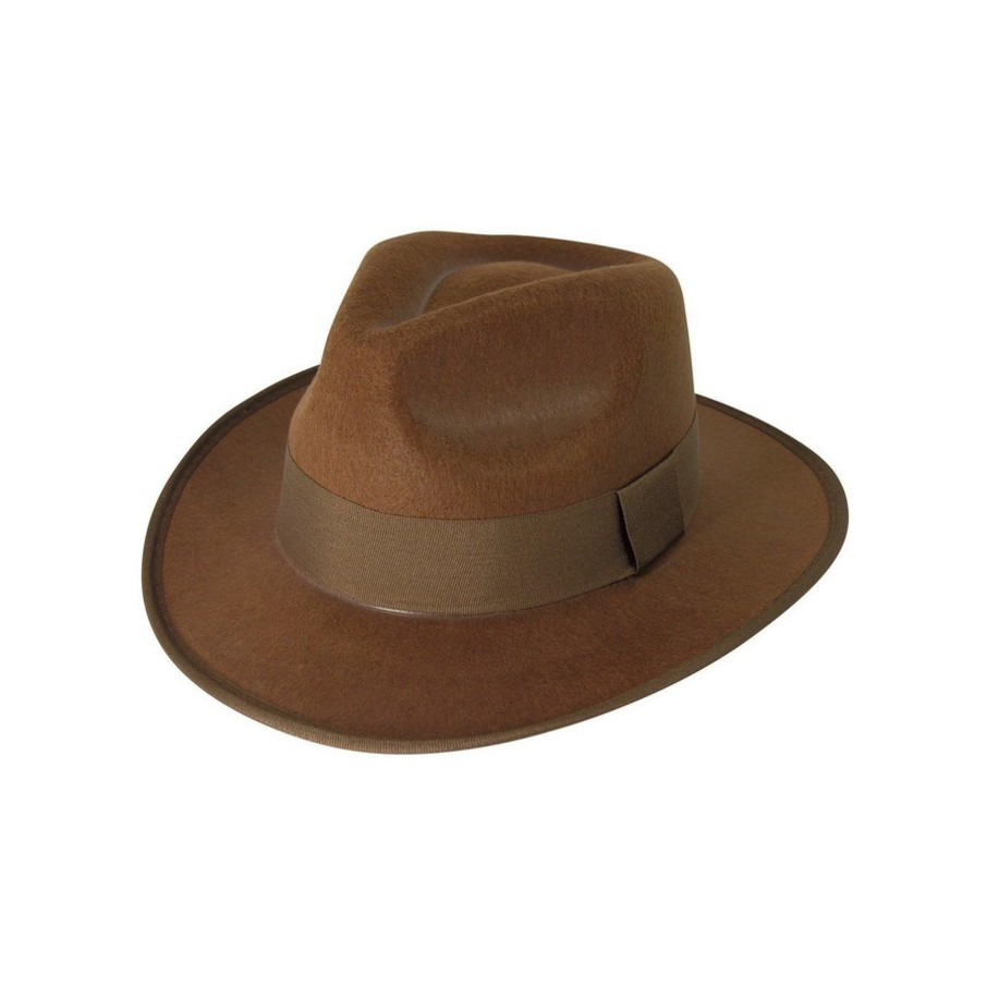 View larger image of Brown Fedora Adult Hat