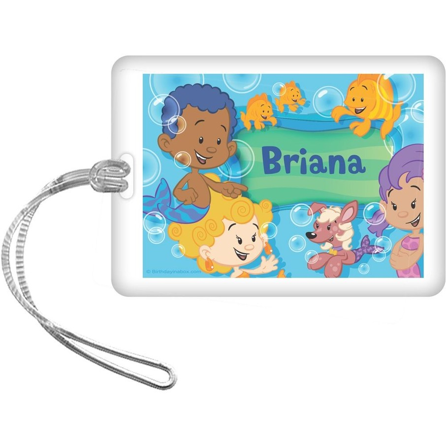 View larger image of Bubble Friends Personalized Bag Tag (Each)