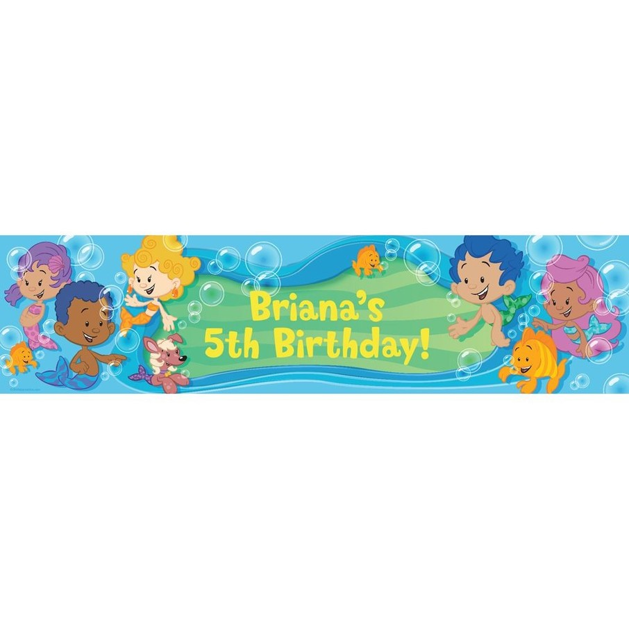 View larger image of Bubble Friends Personalized Banner (Each)
