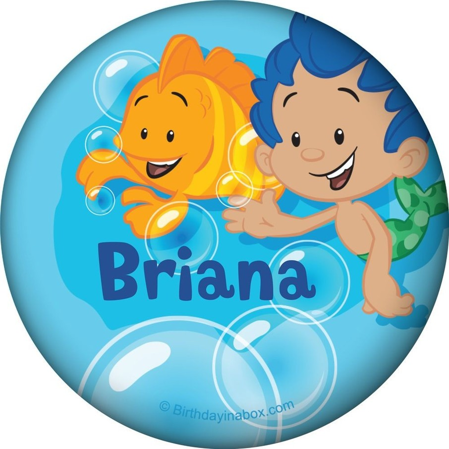 View larger image of Bubble Friends Personalized Button (Each)
